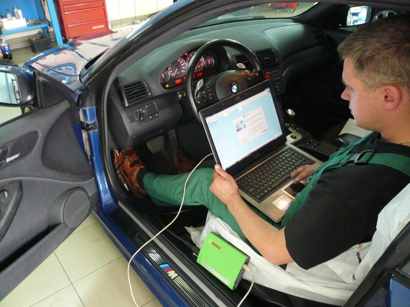 Диагностика двигателей своими руками с ноутбуком